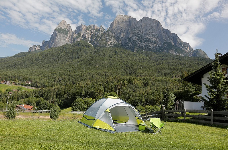 Šator za djecu je veoma malen